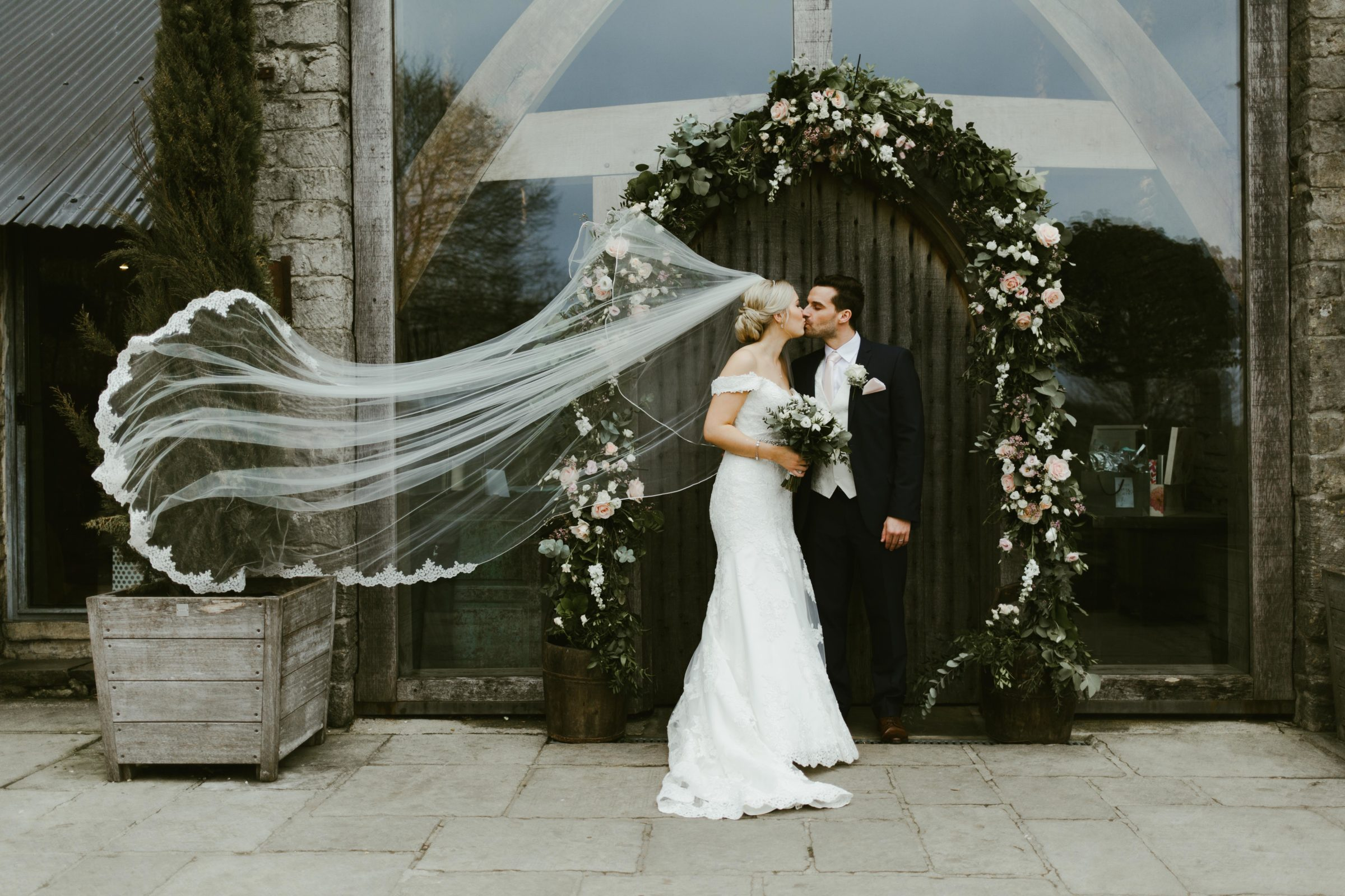 Jack & Fi – Rustic Wedding at Cripps Barn – March 2019