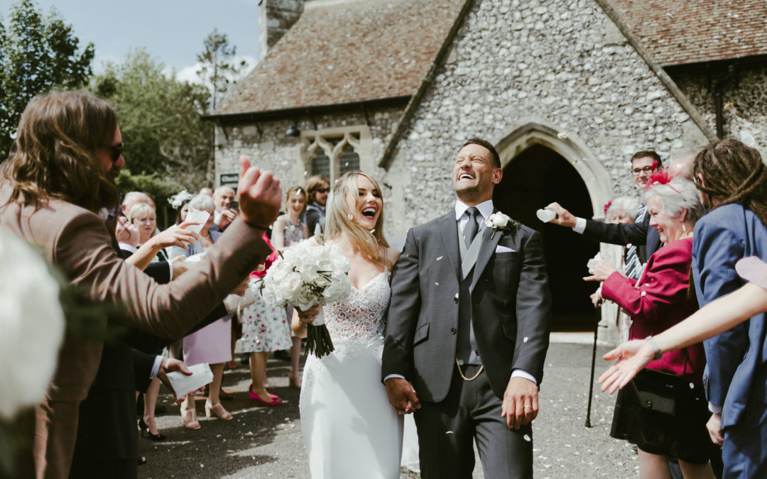 Louise & Nathan – Summer Wedding at Oakley Hall – May 2019
