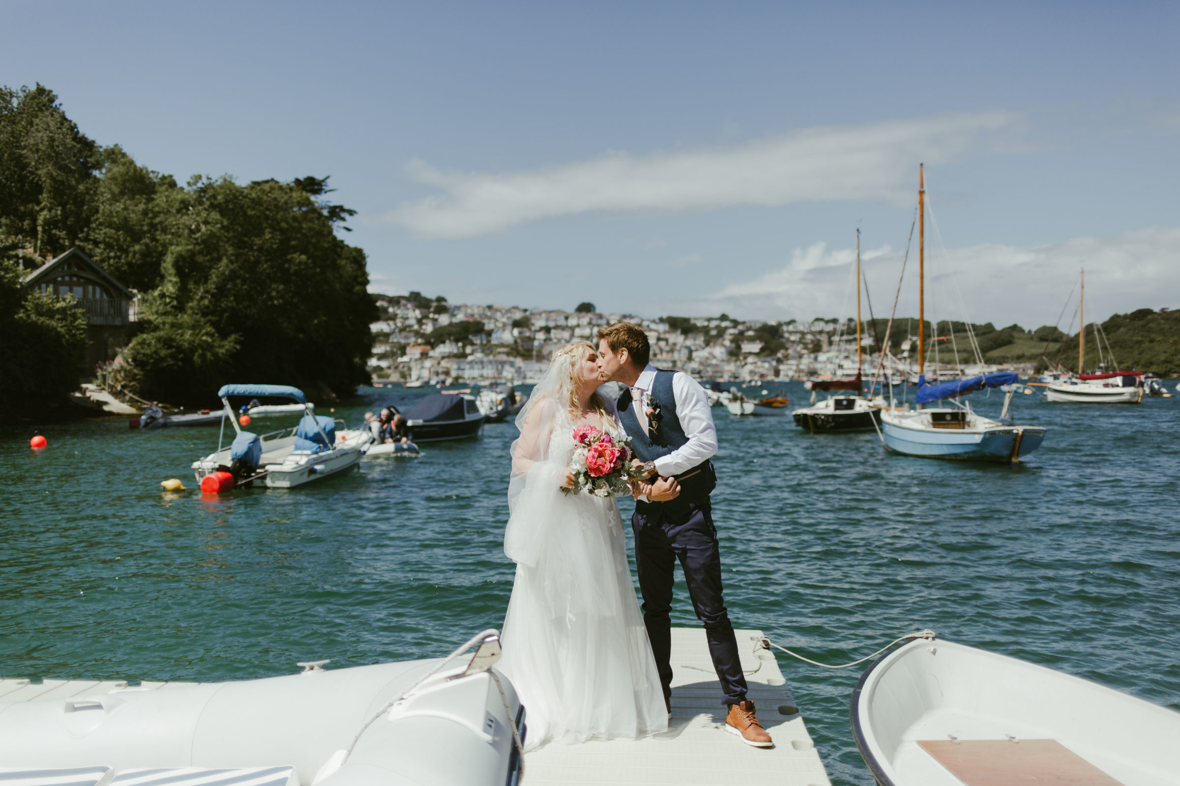 Steph & Ollie – Port Waterhouse Wedding on the Salcombe Coast – June 2019