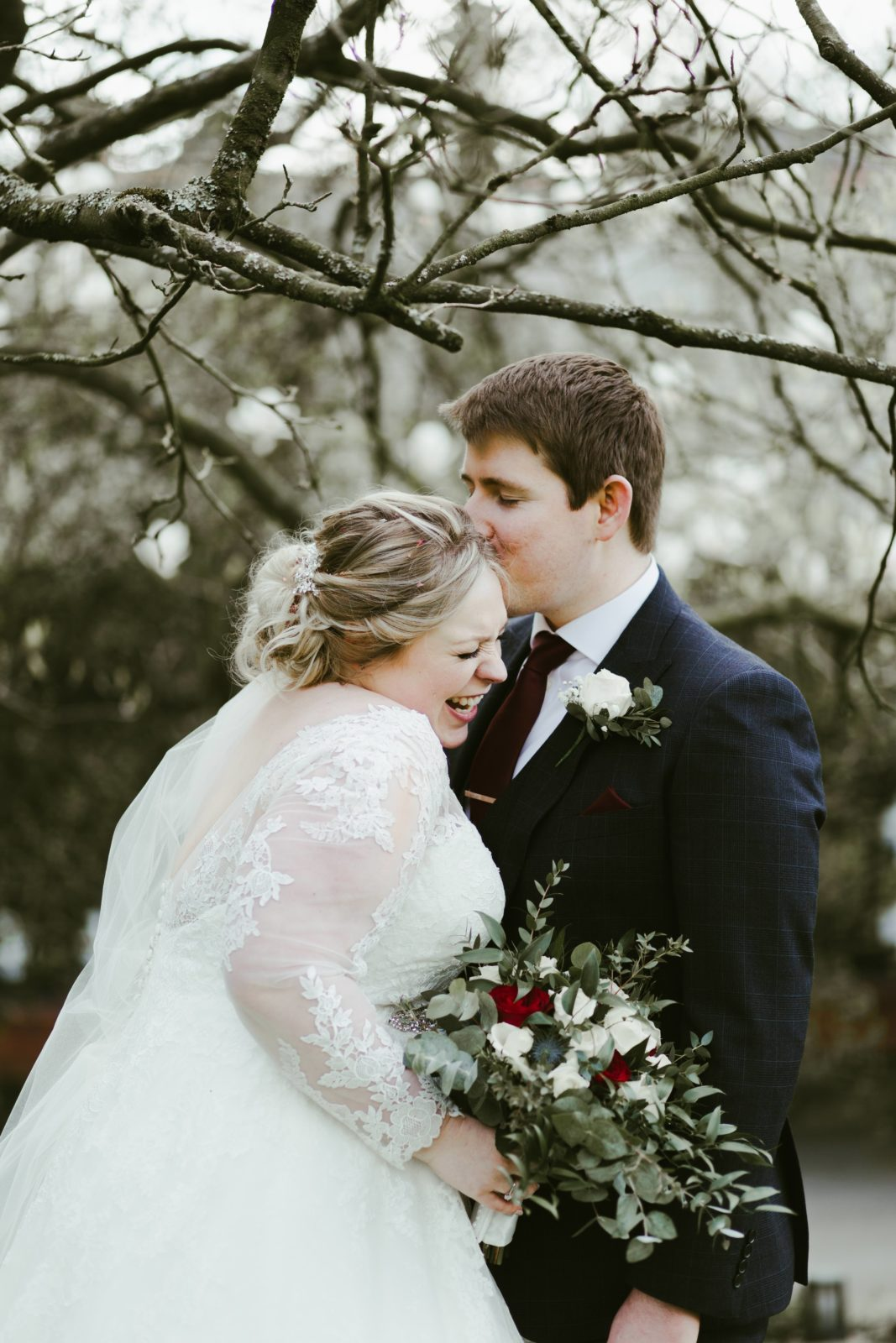 samlesbury-hall-preston-uk-wedding-photography-photographer-spring-blossom-couple-bride-groom