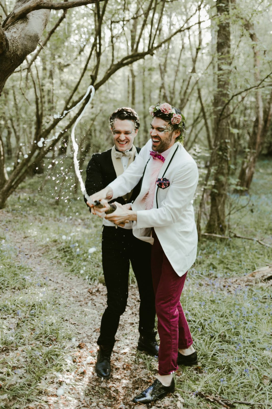 wildflower-elopment-LGBT-gay-wedding-woodland-celebration