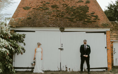 Rosy & Pat – Vintage Wedding at Lillibrooke Manor – September 2019