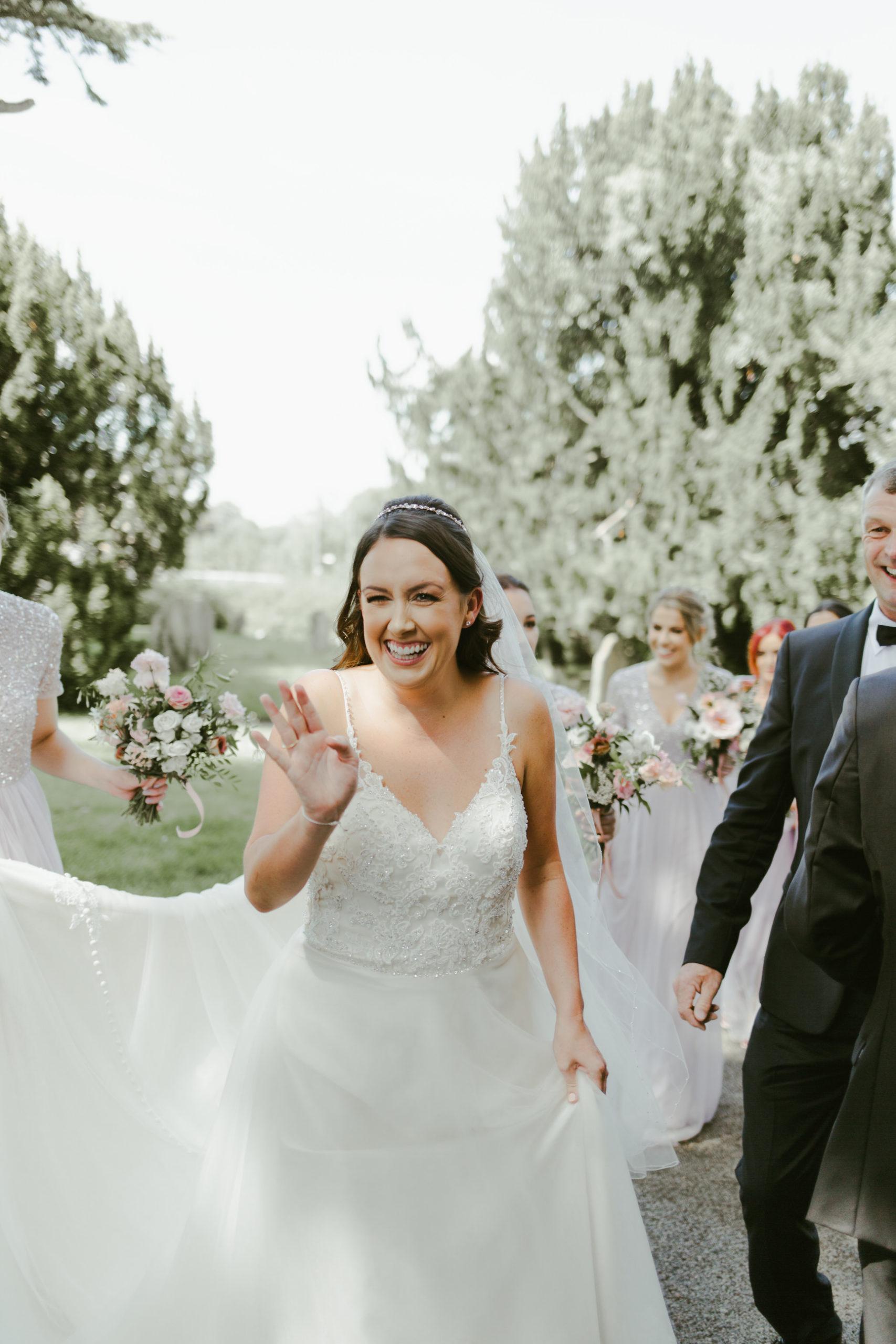 wedding church ceremony bride