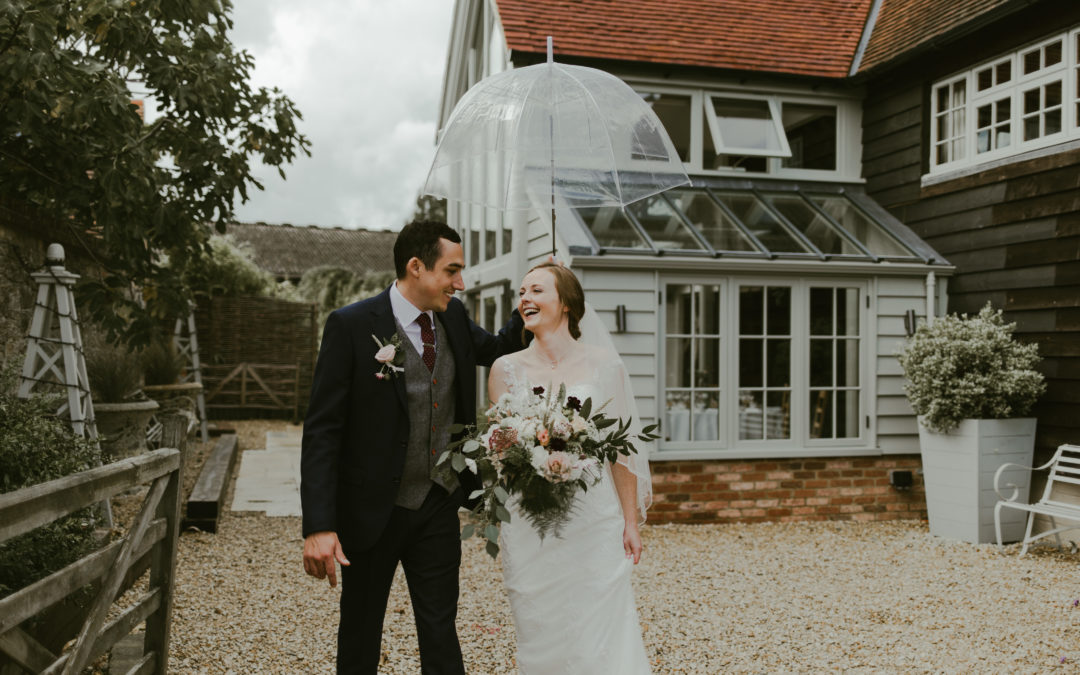 What To Do If It Rains On Your Wedding Day – Top Tips and Advice