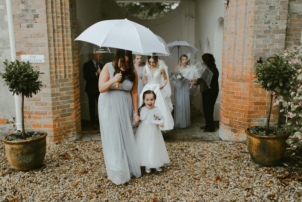 farnham castle weddings the gatehouse bridal party