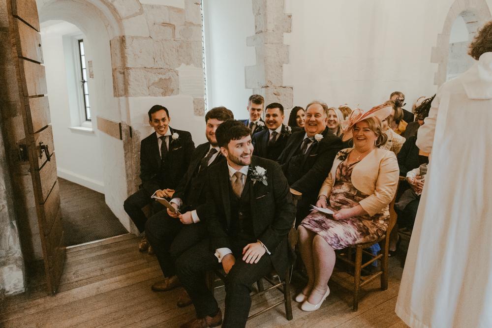 farnham castle wedding chapel ceremony
