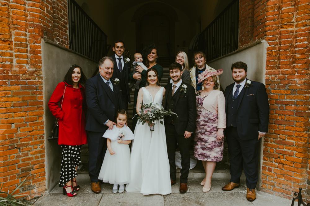 farnham castle weddings family group photos