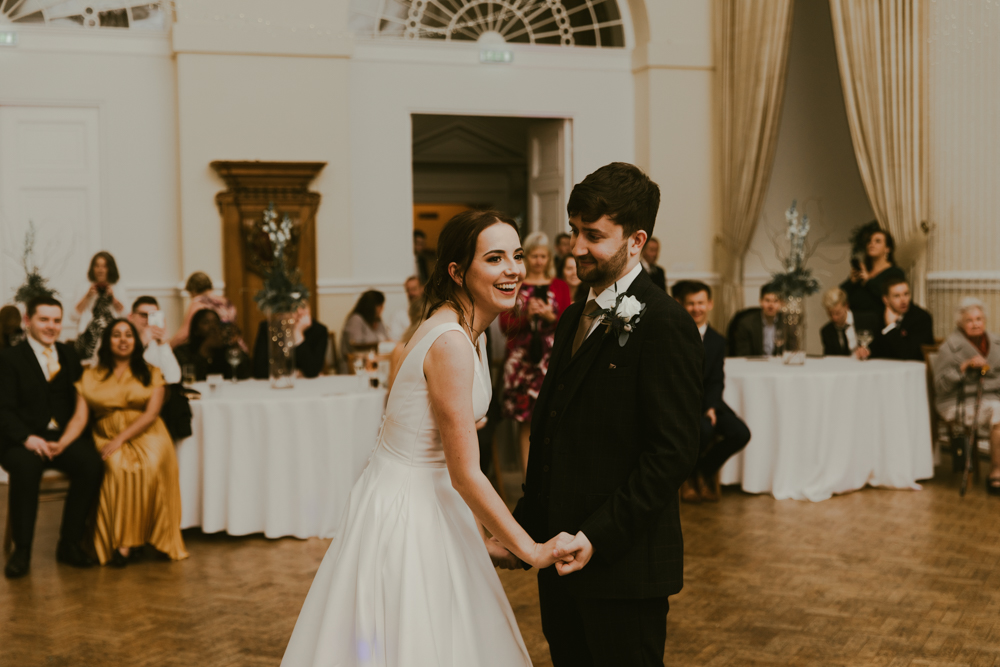 first dance at farnham castle wedding