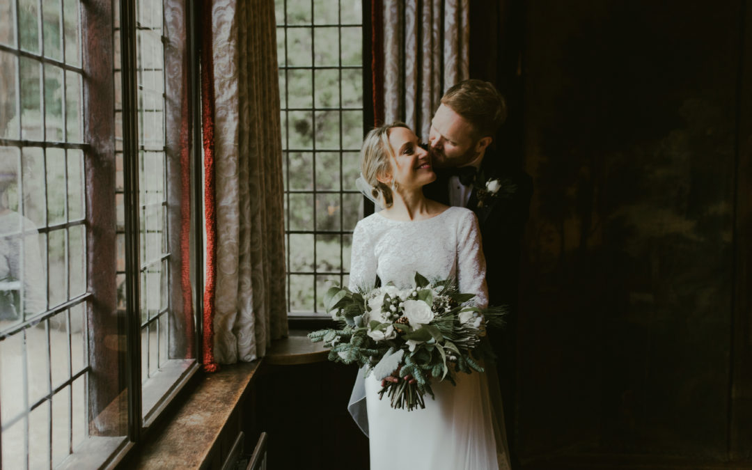 Gemma & David – Christmas Wedding at Ramster Hall – December 2019