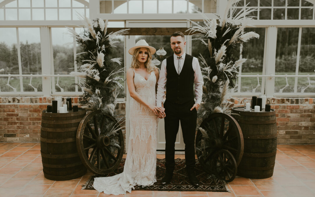 The Wild Wild West | Western Rebel Wedding Inspiration